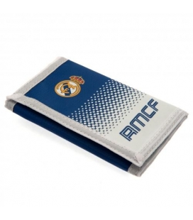 Real Madrid Wallet - White/Blue