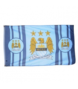 Manchester City Team Flag