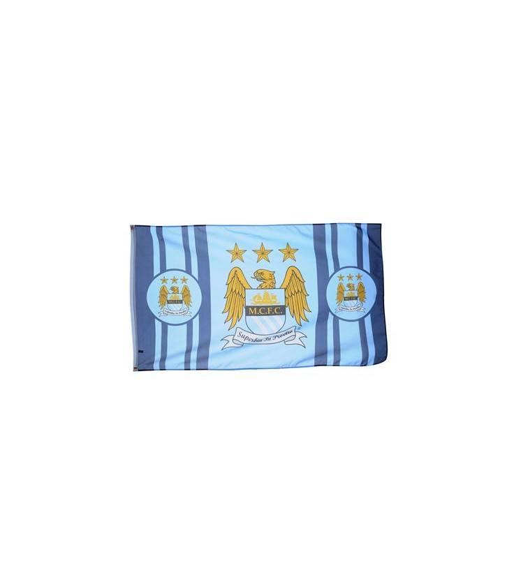 Manchester City Team Flag