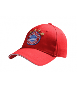 Bayern Munich Team Cap - Red