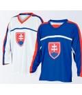 Slovakia Ice Hockey Shirt - Blue