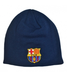 FC Barcelona Knitted Hat - Navy