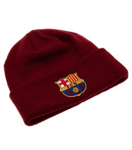 FC Barcelona Knitted Hat - Burgundy