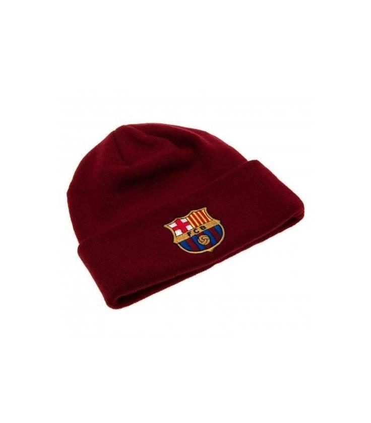 FC Barcelona Knitted Hat - Burgundy
