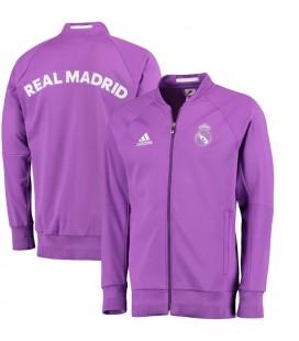 Real Madrid Anthem Jacket - Purple