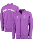 Real Madrid Anthem Jacket - Purple