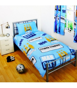 Manchester City Single Duvet Set