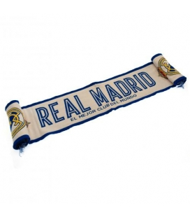 Real Madrid Scarf - White
