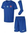 Slovakia Away kids football shirt with shorts and socks