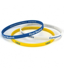 Real Madrid Silicone Wristbands