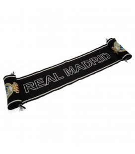 Real Madrid Scarf - Black