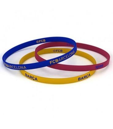 FC Barcelona Silicone Wristbands