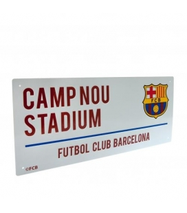 FC Barcelona Bar Scarf Sign