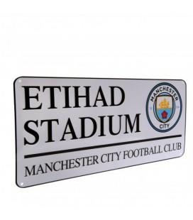 Manchester City Street Sign