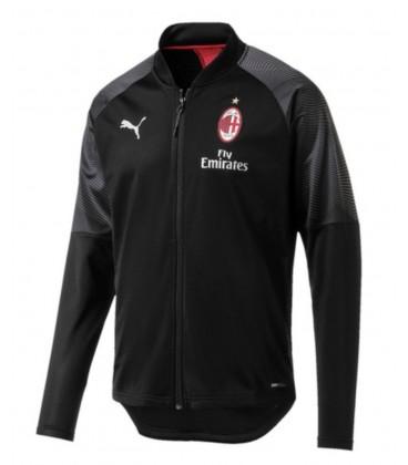 AC Milan Training Woven Jacket - Black