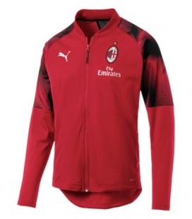 AC Milan Training Woven Jacket - Red