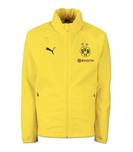BVB Training Rain Jacket - Yellow