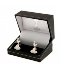 Tottenham Hotspur Silver Plated Cufflinks