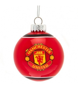 Manchester United Christmas Bauble