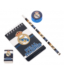 Real Madrid 6 Piece Stationery Set