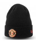 Manchester United Team Knitted Hat - black