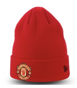 Manchester United Team Knitted Hat - red