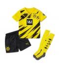 Borussia Dortmund Home kids football shirt with shorts and socks
