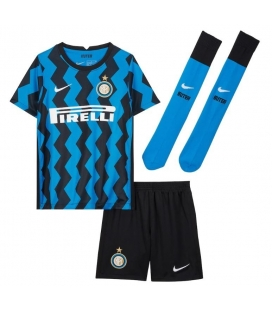 Inter Milan Home kids football shirt with shorts and socks