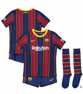 FC Barcelona Home kids football shirt with shorts and socks