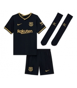FC Barcelona Away kids football shirt with shorts and socks