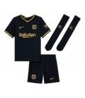 FC Barcelona Away kids football shirt with shorts and socks