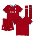 FC Liverpool Home kids football shirt with shorts and socks