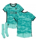 FC Liverpool Away kids football shirt with shorts and socks