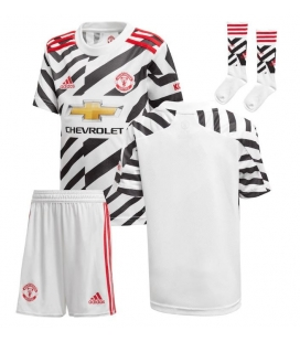 Manchester United Third kids football shirt, shorts and socks