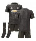 Manchester United Away kids football shirt, shorts and socks