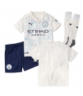 Manchester City third kids football shirt with shorts and socks