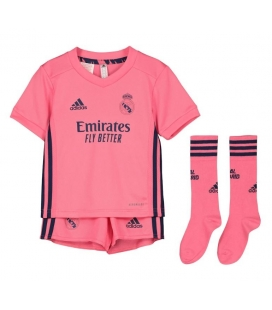 Real Madrid Away kids football shirt, shorts and socks