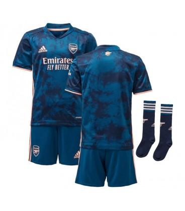 Arsenal London third kids football shirt, shorts and socks