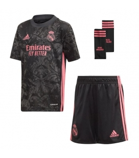 Real Madrid Third kids football shirt, shorts and socks