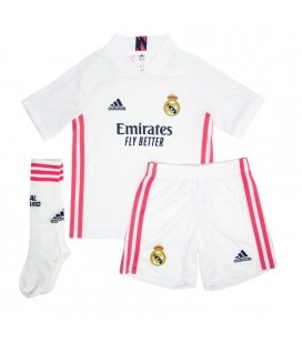 Real Madrid Home kids football shirt, shorts and socks