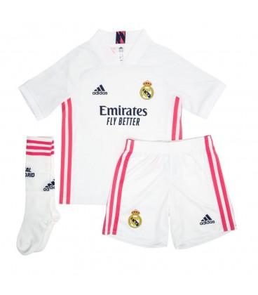 Real Madrid Home kids football shirt, shorts and socks