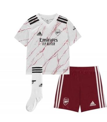Arsenal London Away kids football shirt, shorts and socks