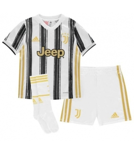 Juventus Home kids football shirt, shorts and socks