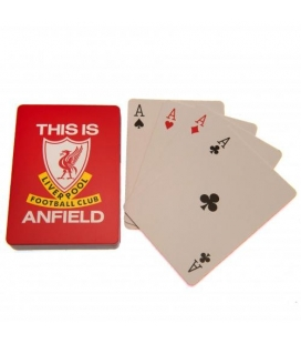 FC Liverpool Playing Poker Cards