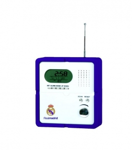 Real Madrid Radio With Digital Clock & Alarm