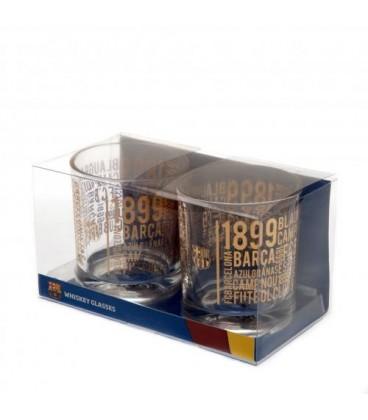 FC Barcelona Whiskey Glasses