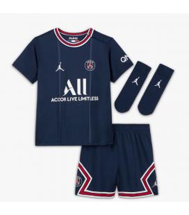 Paris Saint Germain Home kids football shirt with shorts and socks