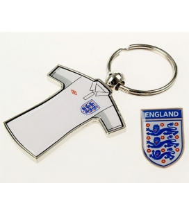 England Keyring + Badge