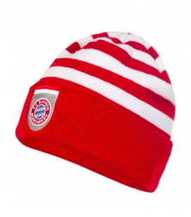 Bayern Munich Team Knitted Hat - Red/White