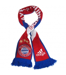 Bayern Munich Adidas Scarf - Red/Blue